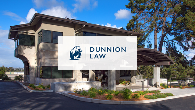 Dunnion Law Firm Exterior Photo - Monterrey, California
