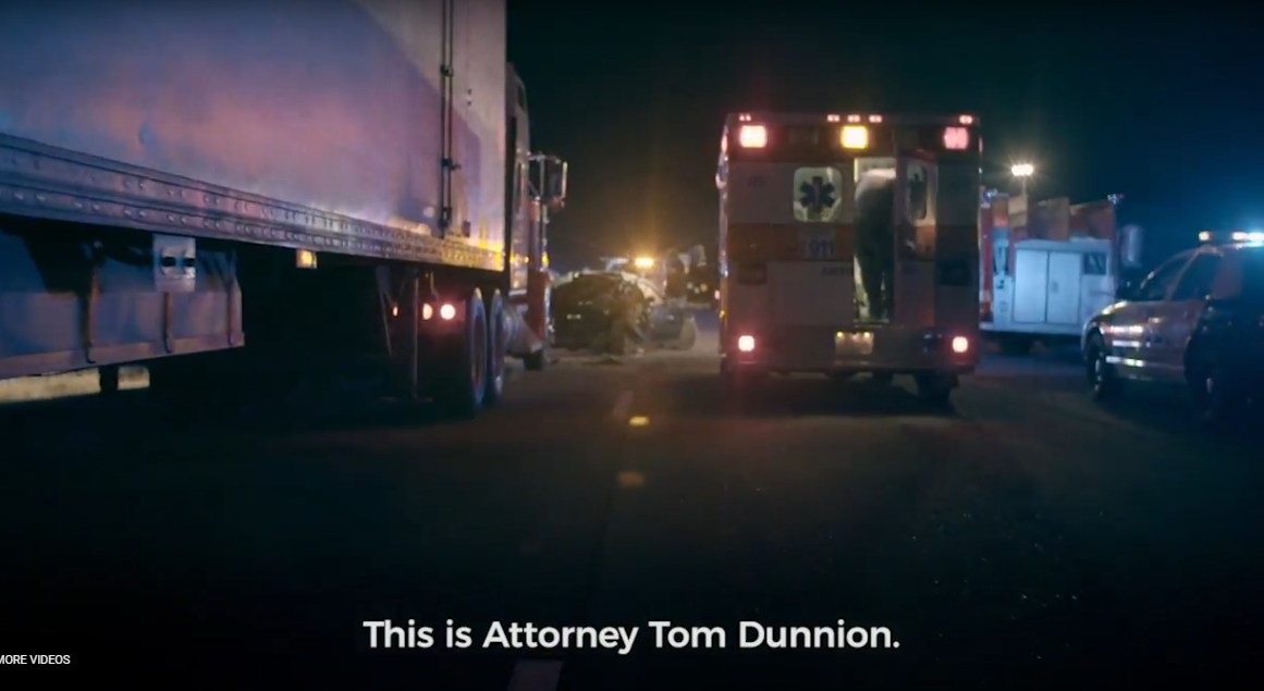 Tom Dunnion Truck Accident Commercial Photo
